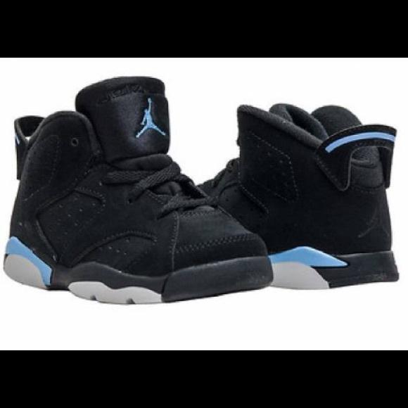 Baby Blue Black Jordan Retro 6s | Poshmark